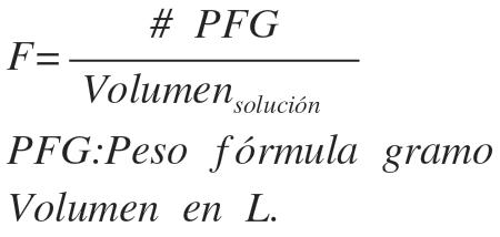 formula de formalidad