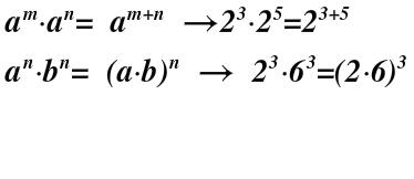 leyes de la pontenciacion_producto de bases