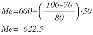 como calcular la mediana datos agrupados